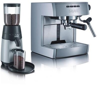 GRAEF espresso ES 70 + kávomlýnek CM 70