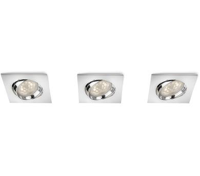 Bodové svítidlo Philips Galileo 3ks 59080/11/16 + DOPRAVA ZDARMA