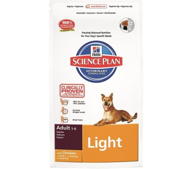 Granule Hill´s Canine Adult Light Chicken