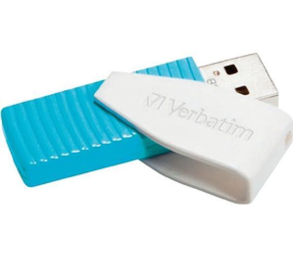 Verbatim Store 'n' Go Swivel 8GB USB 2.0 - modrý