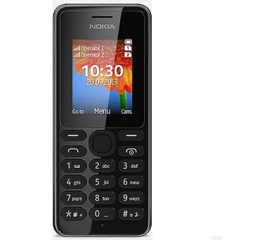 Nokia 108 Dual Sim - černý