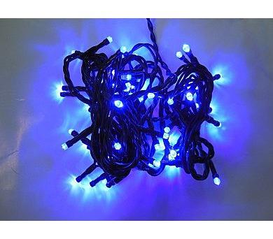 Vánoční osvětlení - stálesvítící - MODRÉ + DOPRAVA ZDARMA