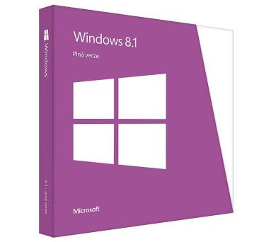 Microsoft Windows 8.1 CZ 64bit (OEM)