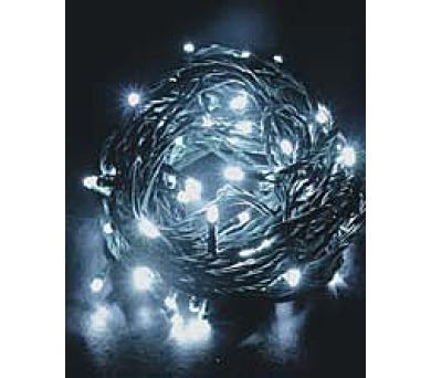 Vánoční osvětlení 120 LED - programovatelné - BÍLÉ