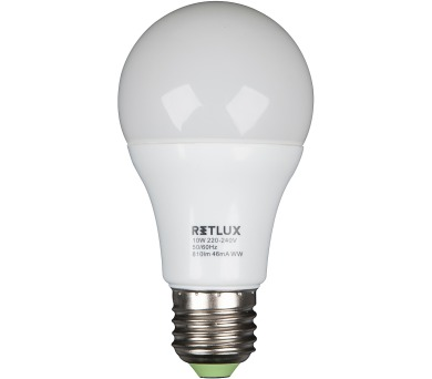 Retlux RLL 15 - A60 10W E27