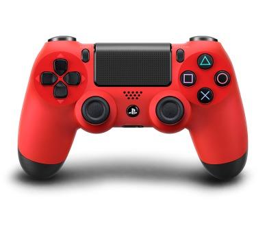 Sony Dual Shock 4 pro PS4 - červený + DOPRAVA ZDARMA