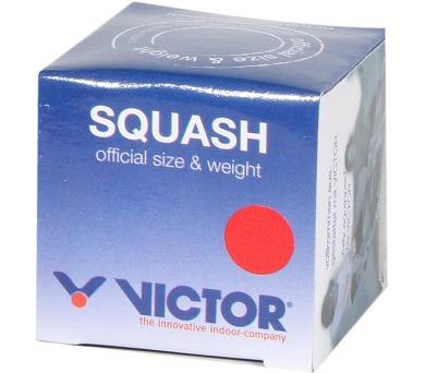 Victor SQUASHBALL red - medium v krabičce - černý