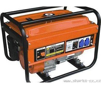 Elektrocentrála benzínová SH 5500 + DOPRAVA ZDARMA