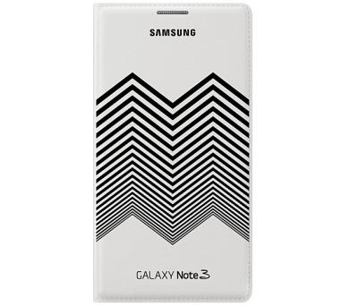 Samsung pro Galaxy Note 3 Wallet Nicolas Kirkwood (EF-EN900BW) - černé/bílé
