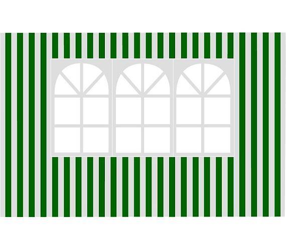 Bočnice zahradního stanu Happy Green s oknem-pruhy