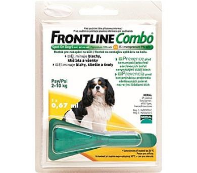 Frontline Combo Spot - on Dog S 1 x 0,67 ml (pes 2 - 10kg)