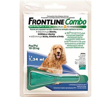 Frontline Combo Spot - on Dog M 1 x 1,34 ml (pes 10 - 20kg)