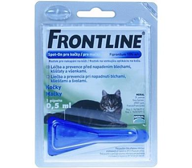 Frontline Spot - On Cat 1 x 0,5 ml (malé kočky)