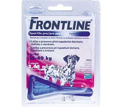 Frontline Spot - On Dog L 1 x 2,68 ml (pes 20 - 40kg)