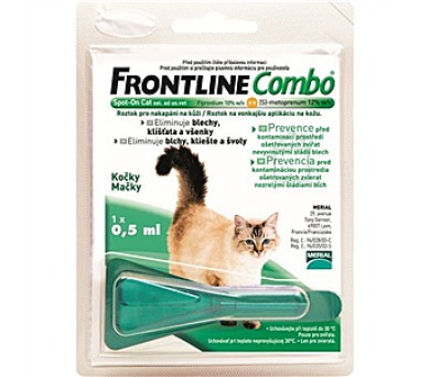 Frontline Combo Spot - on Cats 1 x 0,5 ml (malé kočky)