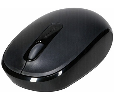 Microsoft Wireless Mobile Mouse 1850 Black / optická / 2 tlačítka / 1000dpi - černá
