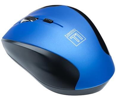 Myš Connect IT Wireless CI-155 / optická / 5 tlačítek / 1600dpi - modrá + DOPRAVA ZDARMA