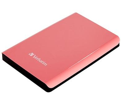 Verbatim Store 'n' Go 1TB - růžový + DOPRAVA ZDARMA