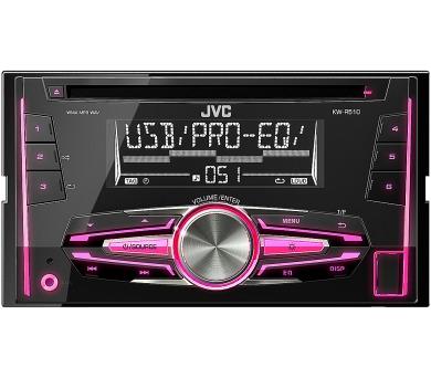 KW R510 2DIN AUTORÁDIO S CD JVC