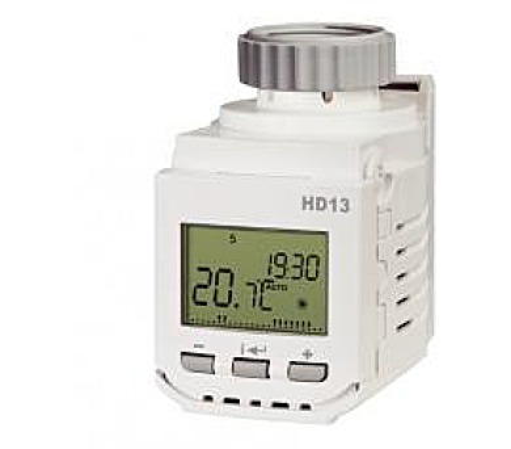 Digitální termostatická hlavice HD13 + DOPRAVA ZDARMA