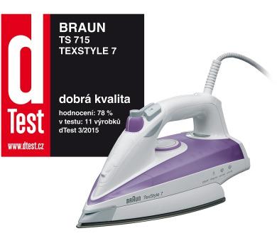 Braun TS 715 TexStyle 7 + Záruka vrácení peněz 100 dní* + DOPRAVA ZDARMA