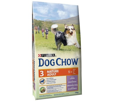 Granule Purina Dog Chow Mature Adult jehněčí 14 kg