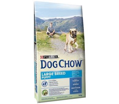 Granule Purina Dog Chow Puppy Velká plemena krůta 14 kg