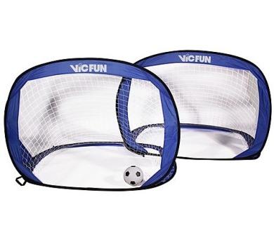 VicFun Pop Up goal set - rozkládací branky na fotbal
