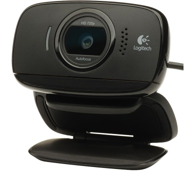 Logitech HD Webcam B525 - černá