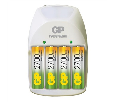 GP PB11GS + 4x AA NiMH2700