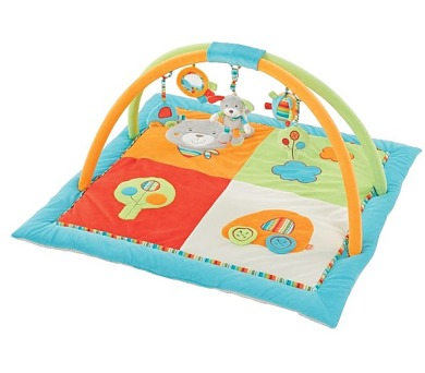 Hrací deka s hrazdou Baby FEHN HOLIDAY 3D aktivity + DOPRAVA ZDARMA