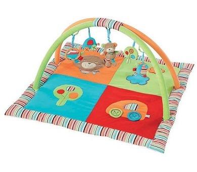 Hrací deka s hrazdou Baby FEHN OSKAR 3D aktivity