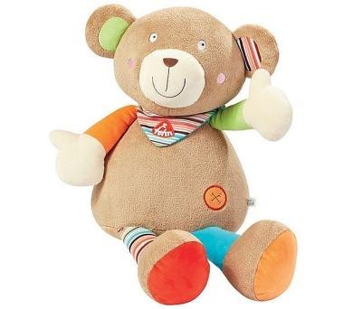 Plyšová hračka Baby FEHN plyšový medvěd OSKAR - velký + DOPRAVA ZDARMA
