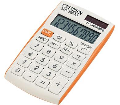 Citizen SLD-322RG bílá/oranžová
