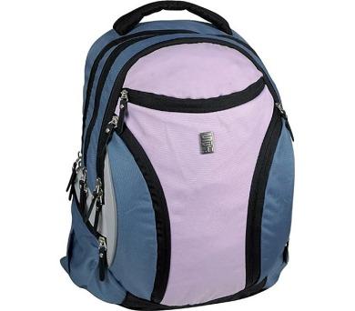 Batoh školní SunCe studentský SCI-FI růžovofialový