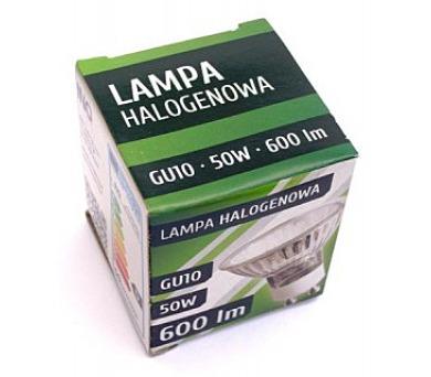 Žárovka INQ halogenová GU10 50W 240V