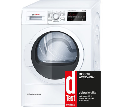 Bosch WTW85460BY + 100 dní možnost vrácení*