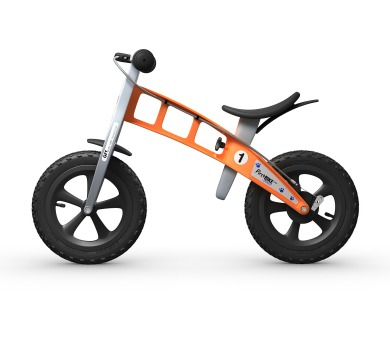 FirstBIKE CROSS orange + DOPRAVA ZDARMA