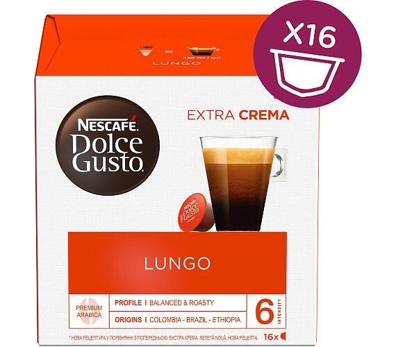 NESCAFÉ Caffe Lungo 16 ks k Dolce Gusto