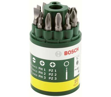 Bosch 10 dílná šroubovacích bitů