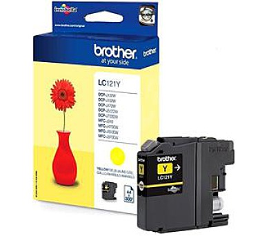 Brother LC121Y yellow | DCP-J552DW/MFC-J470DW