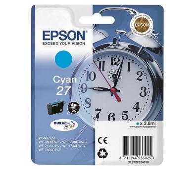 Epson Cyan 27 DURABrite Ultra Ink