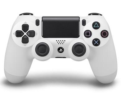 Sony Dual Shock 4 pro PS4 - ledově bílý