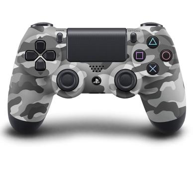 Sony Dual Shock 4 pro PS4- vojenská kamufláž