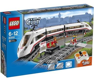 Stavebnice Lego® City 60051 Vysokorychlostní osobní vlak