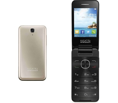 Mobilní telefon ALCATEL ONETOUCH 2012D Dual Sim - zlatý