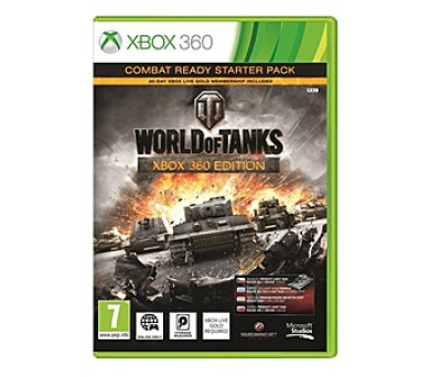 Microsoft Xbox 360 World of Tanks Combat ready starter pack + DOPRAVA ZDARMA