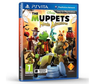 Sony PS VITA Muppets Movie Adventures