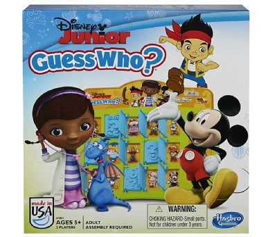 Hasbro Disney junior Hádej kdo?