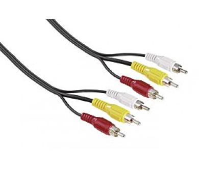 Kabel 3 cinch vidlice - 3 cinch vidlice A/V